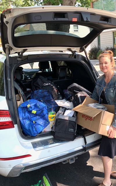 Salvation Army Back to School Donation Success!