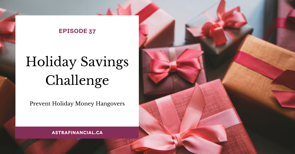 Your Holiday Savings Challenge by Astra Financial 2
